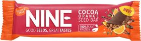 Nine Cocoa Orange Seed Bar 40g x20