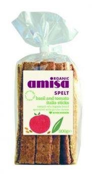 Amisa Crispbread - Corn & Rice Organic 150gx12