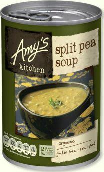 Amy's Kitchen Organic Cream of Mushroom Soup 400g x6
