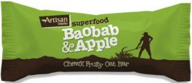 Artisan Snacks Baobab & Apple Bar 16x45g