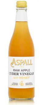 Aspall Raw Cyder Vinegar W/Honey (with mother) 6x500ml