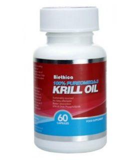 Biethica Krill Oil 60 Capsules x1