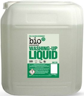 Bio-D Perfume Free Washing-up Liquid (Concentrated) 5L x4
