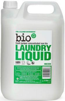 Bio-D Fresh Juniper Laundry Liquid (Concentrated, Non-Biological) 1L x12
