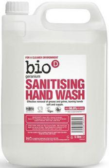 Bio-D Geranium Sanitising Hand Wash 500ml x6