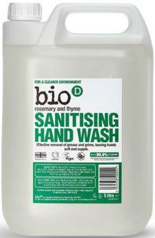 Bio-D Rosemary and Thyme Sanitising Hand Wash 500ml x6