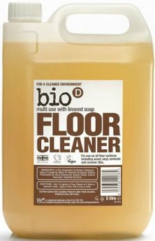 Bio-D Floor Cleaner with Linseed Soap 750ml x12