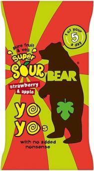 Bear Pure Fruit Blackcurrant Yoyos 20g x18