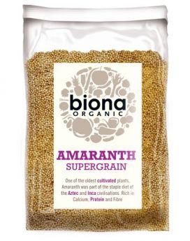 Biona Organic Amaranth Seed 500g x6