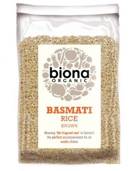 Biona Organic Basmati Brown Rice 500g x6