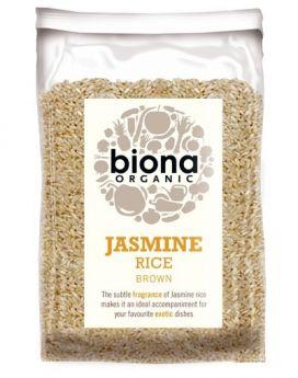 Biona Organic Jasmine Rice Brown 500g x6