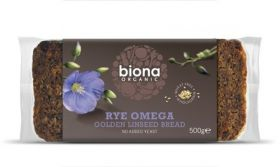 Biona Organic Linseed Gold A rich source of OMEGA 3 500g x6