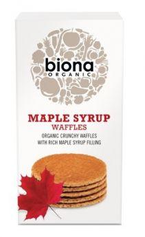 Biona Organic Maple Syrup Waffles 175g x12