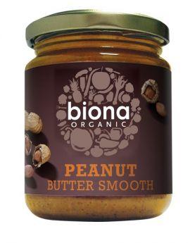 Biona Organic Peanut Butter Smooth/ no salt 500g x6