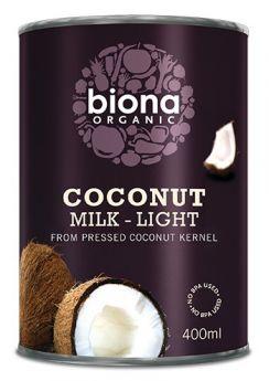 Biona Organic Coconut Milk Classic 400ml x6