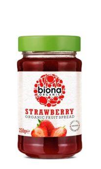 Biona Organic Strawberry Spread 250g x6