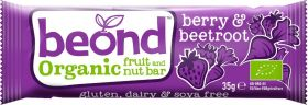Beond Organic Apple and Cinnamon Fruit and Nut Bar 35g x18