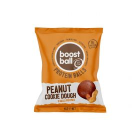 PROMO - Boostball Peanut Butter Cookie Dough 42g x12