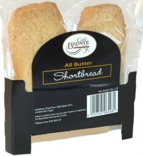 Bronte Cafe All Butter Shortbread Dunkers 30g - 2x24