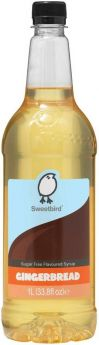 Sweetbird Classic Vanilla (Sugar Free) Flavoured Syrup 1 Litre x1