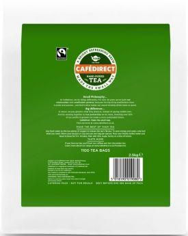 Tea Direct Fair Trade Catering Pollybag (2x1100 bags/2g)