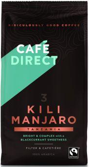 Caf?direct Fair Trade Kilimanjaro Tanzania Roast Ground Coffee 227g x6
