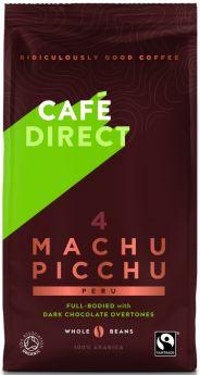 Caf?direct Fair Trade & Organic Machu Picchu Peru Coffee Beans 227g x6