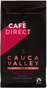 Caf?direct Fair Trade Cauca Valley Colombia Roast Ground Coffee 227g x6
