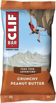 Clif Crunchy Peanut Butter Energy Bar 68g x12
