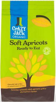 Crazy Jack Organic Ready to Eat Apricots 250g x6
