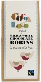 Cocoa Loco Fair Trade & Organic Handmade Dark Chocolate Mango 110g x6
