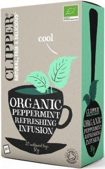 Clipper Fair Trade Organic Infusion Peppermint Teabags (6x20's)