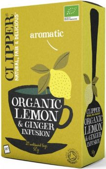 Clipper Fairtrade & Organic Green Tea 25's x6