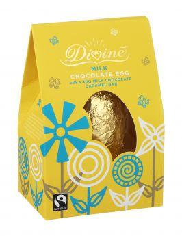Divine Fair Trade Dark Easter Brazil Egg (6x140g)
