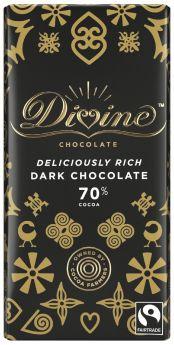 Divine Fair Trade Dark Chocolate (15x100g)