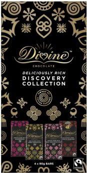Divine Fair Trade Milk Chocolate Gingerbread Crisp 90g x15