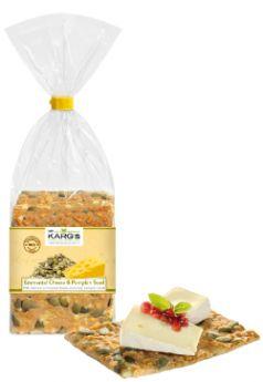 Dr Karg Organic Emmental Cheese & Pumpkin Seed 200g x8