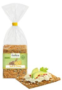 Dr Karg Organic Spelt with Emmental Cheese 200g x8