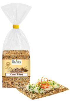 Dr Karg Organic Classic 3 Seed Crispbread 200g x8