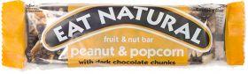 Eat Natural Peanut, Popcorn Dark Choc Chunks 45g x12