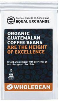 Equal Exchange Organic Guatemalan Coffee Beans 227g x8