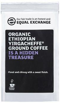 Equal Exchange Fair Trade Organic Ethiopian Yirgacheffe Roast & Ground (6x227g)