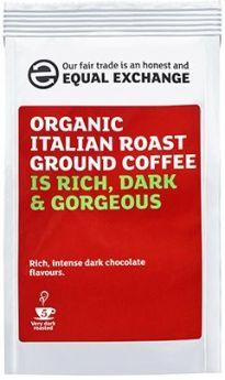 Equal Exchange Organic Italian Roast & Ground Coffee 227g x8