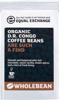 Equal Exchange Organic D.R. Congo (Democratic Republic) Coffee Beans 227g x8