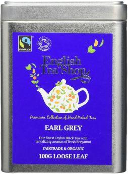 English Tea Shop Fair Trade and Organic Earl Grey Tea 40g (20's) x6