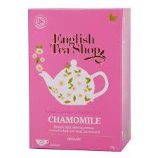 English Tea Shop Organic Camomile 20g (20's) x6