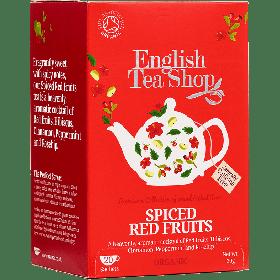 English Tea Shop Organic Spiced Red Fruits 30g (20's) x6