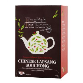 English Tea Shop Organic Chinese Lapsang Souchong 40g (20's) x6