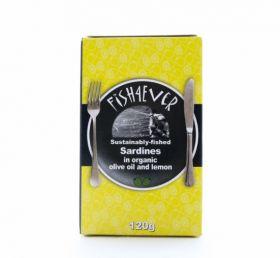 Fish 4 Ever Yellowfin Tuna in Organic Olive Oil 120g x10