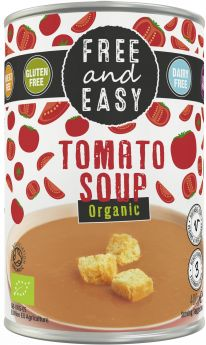 Free & Easy Organic Lentil and Red Pepper Soup 400g x6